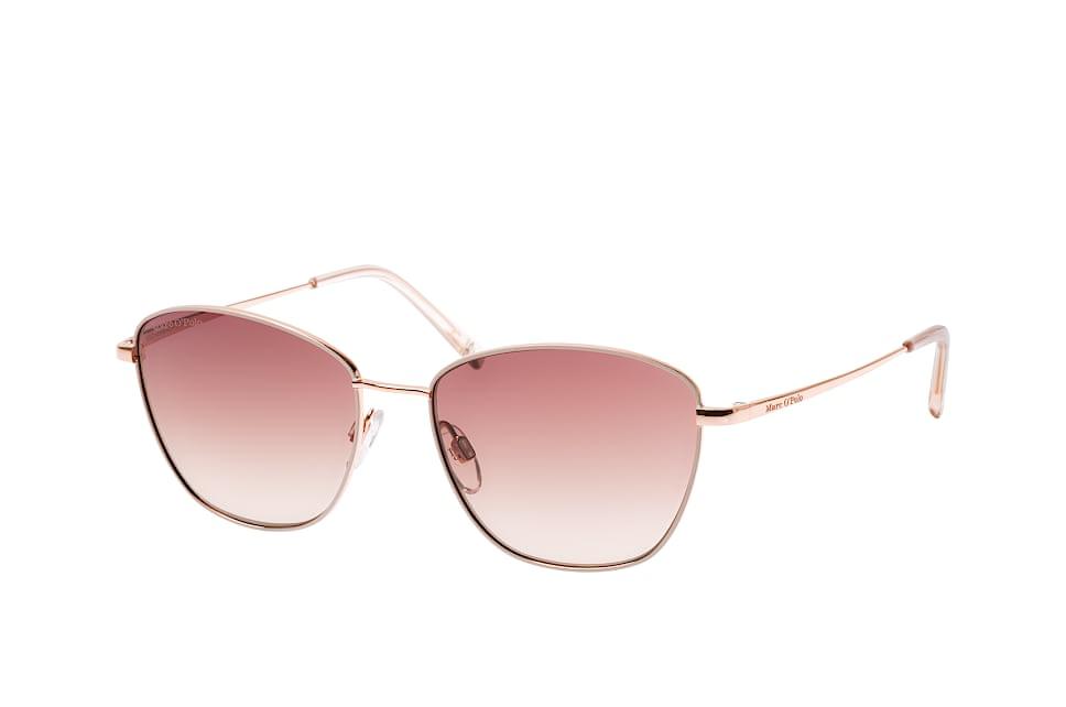 Marc O'polo Eyewear 505072 28, Square Sonnenbrillen, Goldfarben