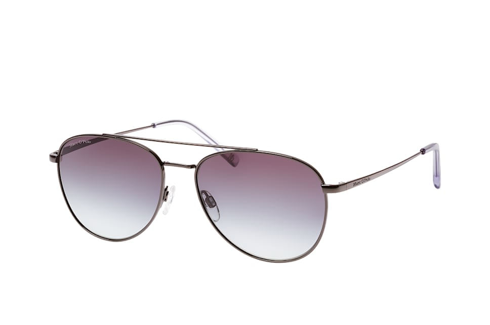 Marc O'polo Eyewear 505066 30, Aviator Sonnenbrillen, Schwarz