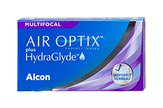Air Optix Air Optix plus HydraGlyde Multifocal tamaño pequeño