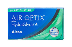 Air Optix Air Optix plus HydraGlyde for Astigmatism tamaño pequeño