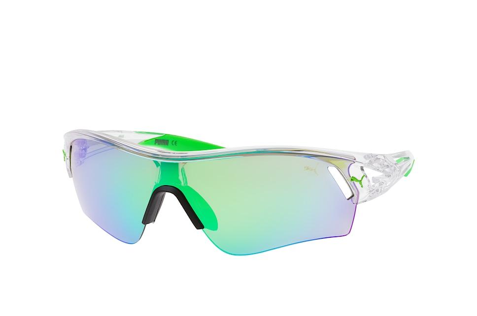 ExoLite 3D PU 0090S 006, Sporty Sonnenbrillen, Transparent