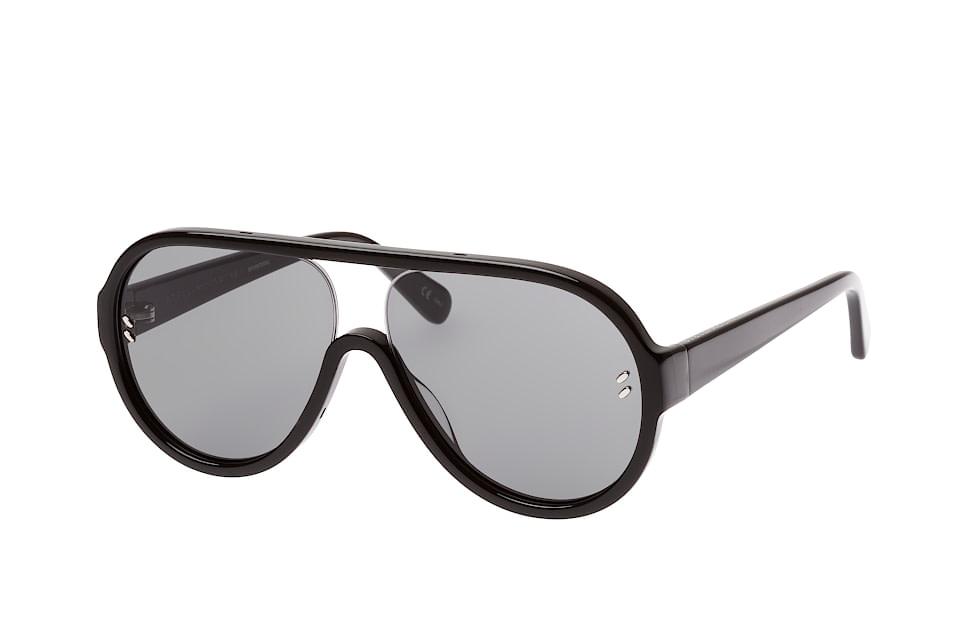 SC 0153S 001, Aviator Sonnenbrillen, Schwarz
