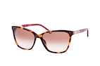 Carolina Herrera SHE 796 0700 Havana / Red / Gradient brown perspective view thumbnail