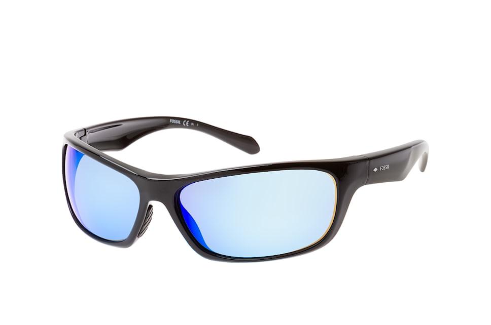 FOS 2085/s 807.z0, Sporty Sonnenbrillen, Schwarz