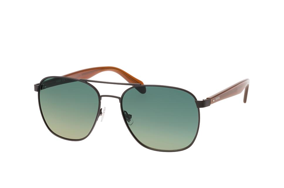 FOS 2081/s 003.pr, Aviator Sonnenbrillen, Schwarz