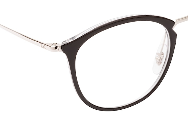 Ray-Ban RX 7140 5852 large vue en perpective