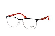 ray-ban-rx-6363-3020-square-brillen-grau