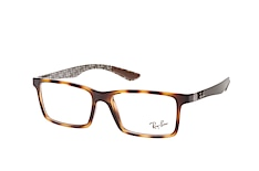 ray-ban-rx-8901-5846-rectangle-brillen-havana