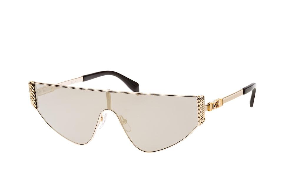 MOS 022/s J5G.ue, Singlelens Sonnenbrillen, Goldfarben