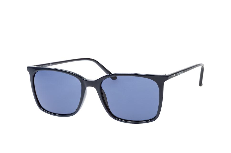 CK 18534S 410, Square Sonnenbrillen, Blau