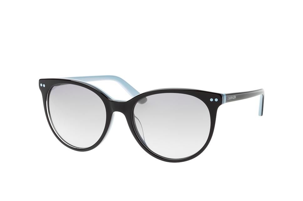 CK 18509S 004, Round Sonnenbrillen, Blau