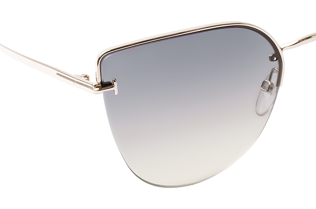 Tom Ford Ingrid 02 FT 0652/S 28B vista en perspectiva