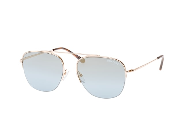 Tom Ford Abott FT 0667/S 28X small perspective view