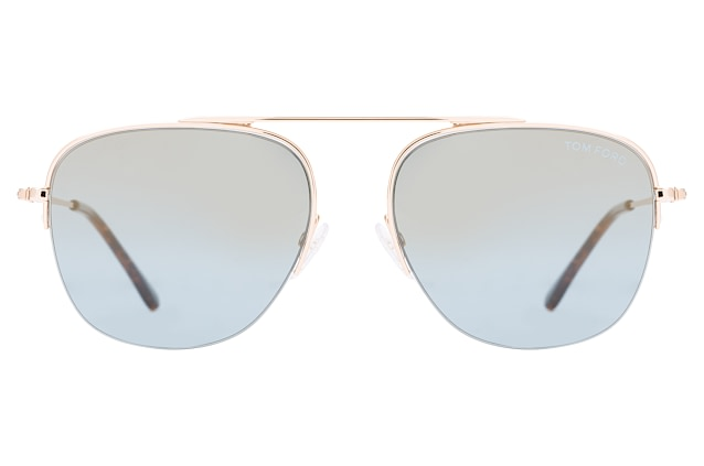 Tom Ford Abott FT 0667/S 28X small vista en perspectiva