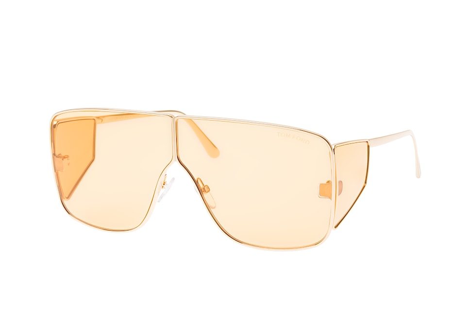 tom ford -  Spector FT 0708/s 33E, Square Sonnenbrillen, Goldfarben