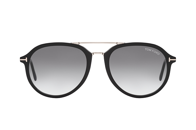 Tom Ford Rupert FT 0674/S 01B perspective view