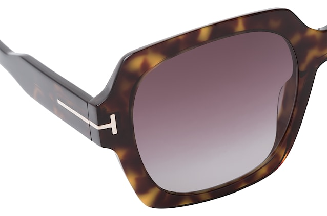 Tom Ford Autumn FT 0660/S 52T vista en perspectiva
