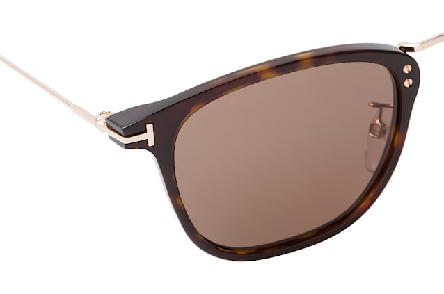 Tom Ford Beau FT 0672/S 52E Perspektivenansicht