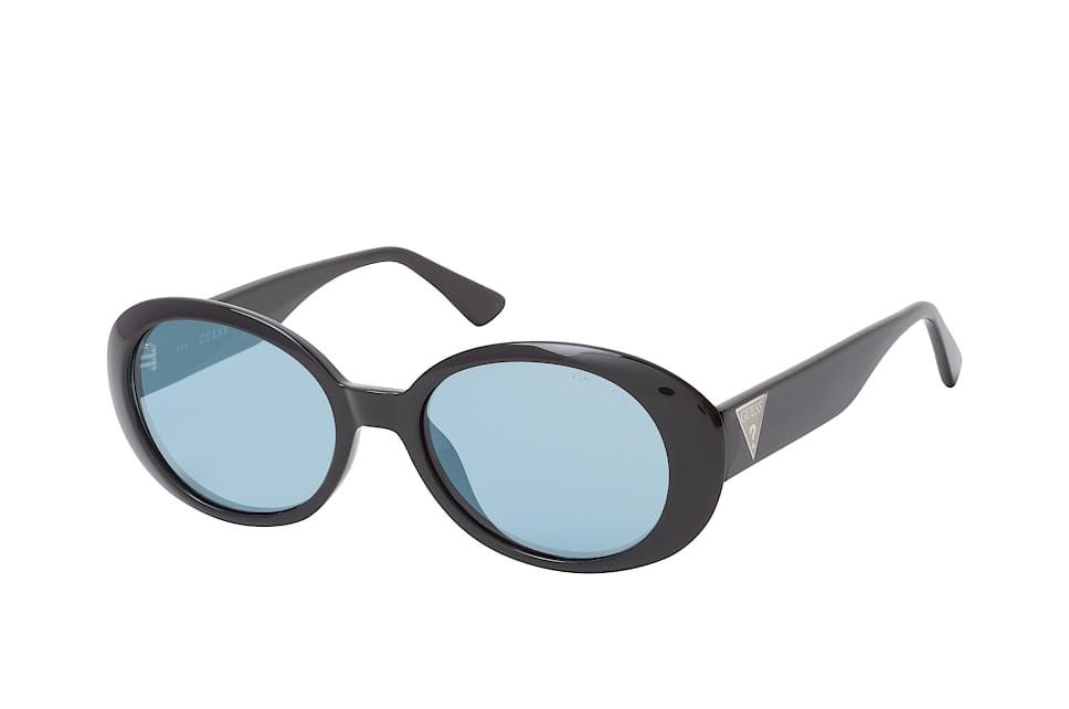 GU 7590/s 01X, Rectangle Sonnenbrillen, Schwarz