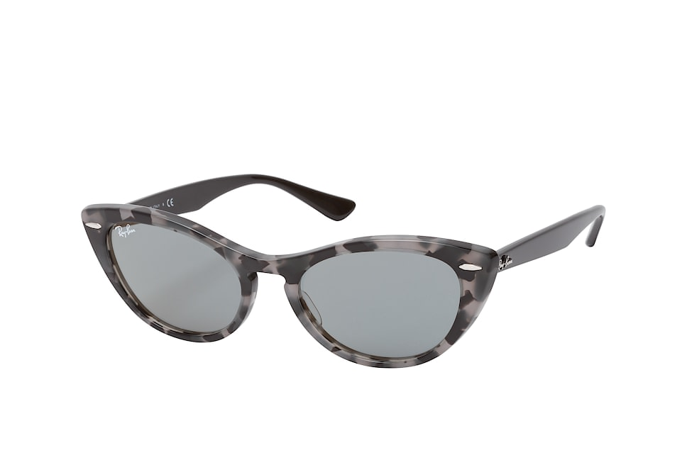 RB 4314N 1250Y5, Rectangle Sonnenbrillen, Grau