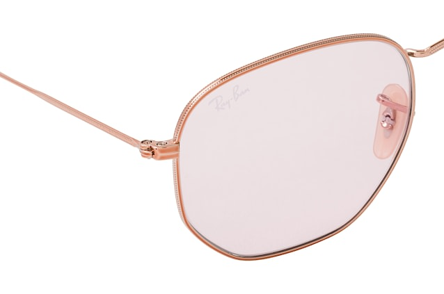 Ray-Ban Hexagonal RB 3548N 9131/0X L perspective view