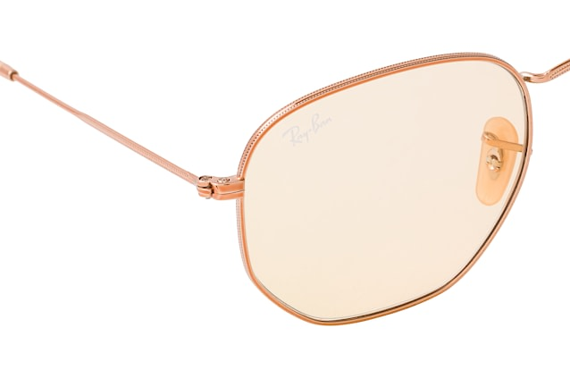 Ray-Ban Hexagonal RB 3548N 9131/0Z L perspective view