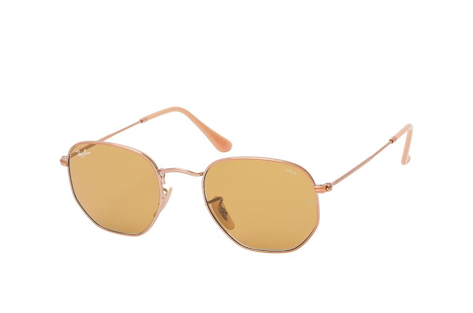 ray-ban -  Hexagonal RB 3548N 9134/4I M, Quadratische Sonnenbrille, Herren, in Sehstärke erhältlich