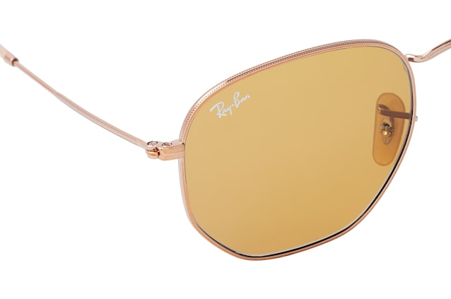 Ray-Ban Hexagonal RB 3548N 9131/4I L vista en perspectiva