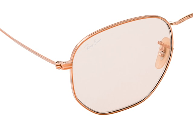 Ray-Ban Hexagonal RB 3548N 9131S0 L vista en perspectiva