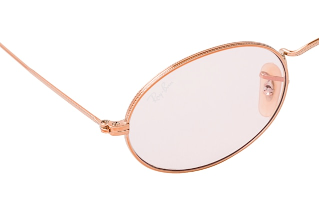 Ray-Ban Oval RB 3547N 9131/0X M vista en perspectiva