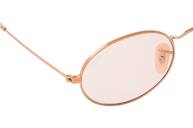 Ray-Ban Oval RB 3547N 9131/0X large vue en perpective