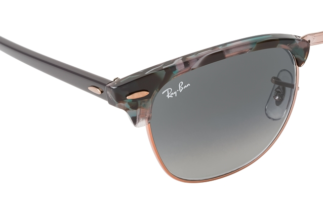 Ray-Ban Clubmaster RB 3016 1255/71 L perspective view