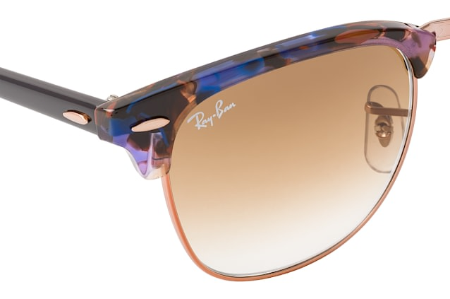 Ray-Ban Clubmaster RB 3016 1256/51 L perspective view