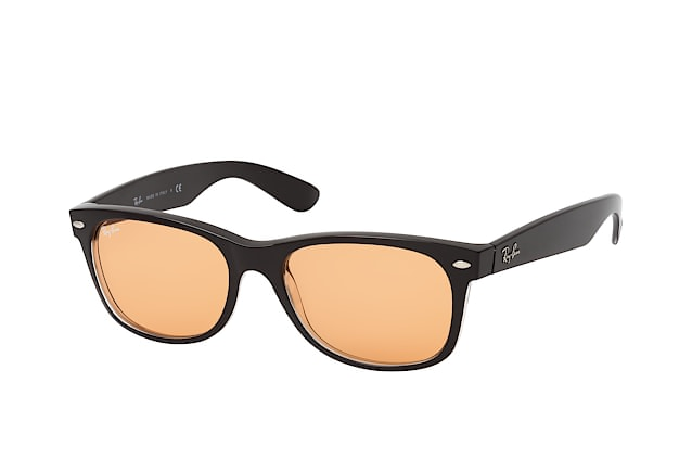 b14b0040f7 ... Sunglasses  Ray-Ban New Wayfarer RB 2132 6398 3L. null perspective view  ...