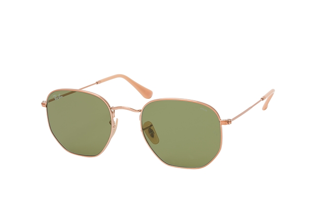 Ray-Ban Hexagonal RB 3548N 9131/4C L perspective view