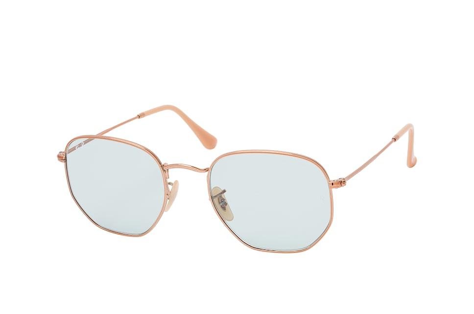 ray-ban -  Hexagonal RB 3548N 9131/0Y L, Quadratische Sonnenbrille, Herren, in Sehstärke erhältlich