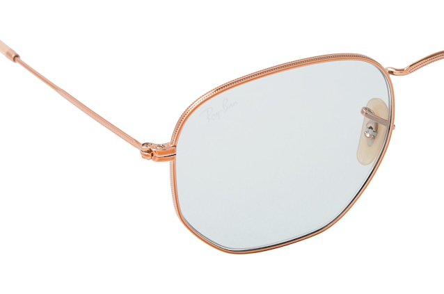 Ray-Ban Hexagonal RB 3548N 9131/0Y L perspective view