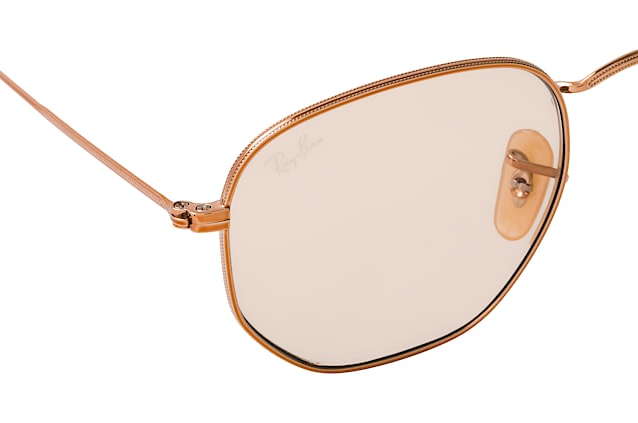 Ray-Ban Hexagonal RB 3548N 9131/S0 M vista en perspectiva