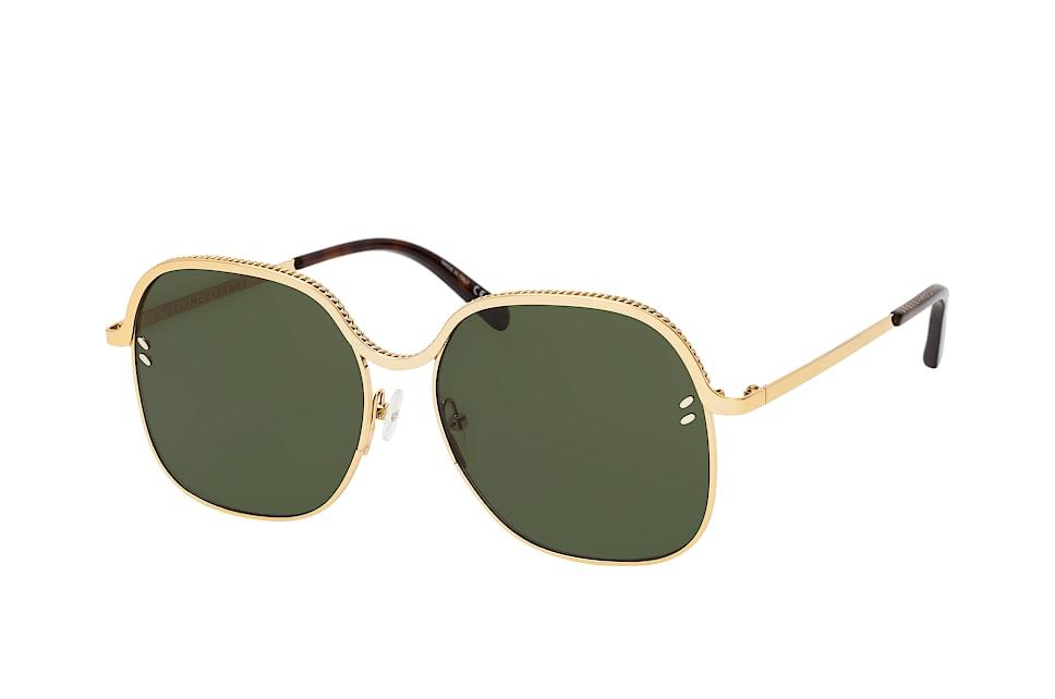SC 0166S 001, Round Sonnenbrillen, Goldfarben