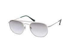 ray-ban-rb-3609-91420s-aviator-sonnenbrillen-silber