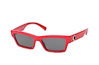 Versace VE 4362 5065/87 Red / Grey perspective view thumbnail