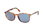 Persol PO 3215S 1082/56 Havana / Blue perspective view thumbnail