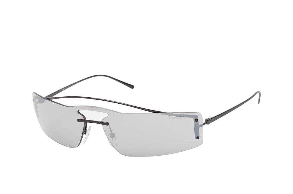 PR 61Vs 1Ab-1I2, Singlelens Sonnenbrillen, Schwarz