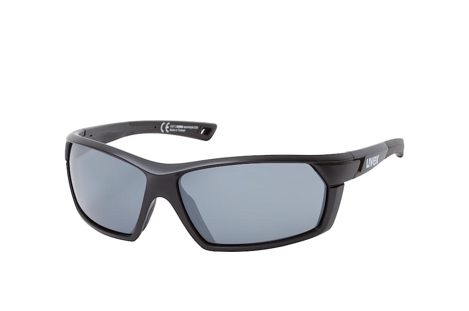 Sportstyle 225 2216, Sporty Sonnenbrillen, Schwarz