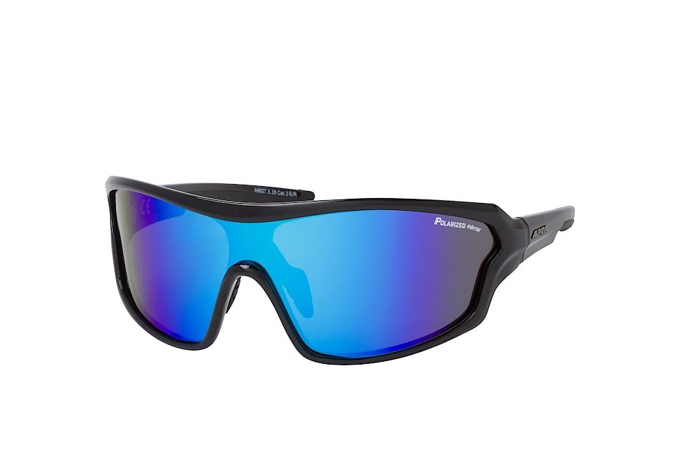 Lyron Shield P A8627.5.35, Singlelens Sonnenbrillen, Schwarz