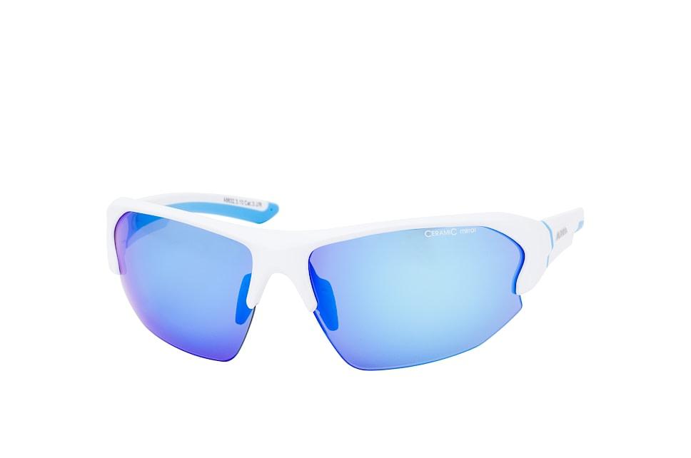 Lyron HR A8632.3.10, Sporty Sonnenbrillen, Blau