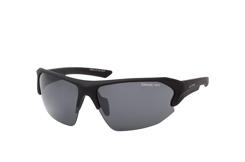 Lyron HR A8632.3.31, Sporty Sonnenbrillen, Schwarz