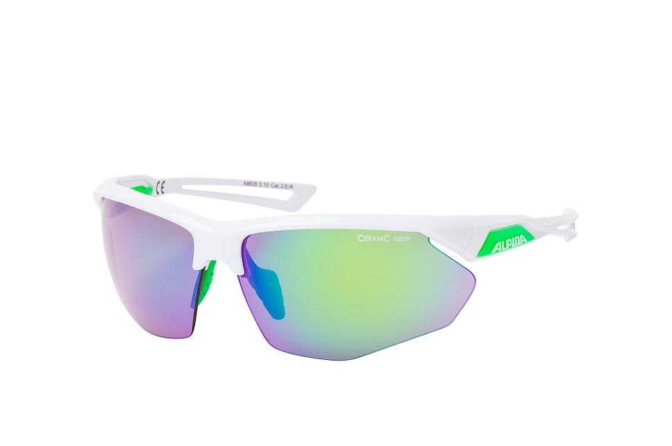 Nylos HR A8635.3.10, Sporty Sonnenbrillen, Weiss