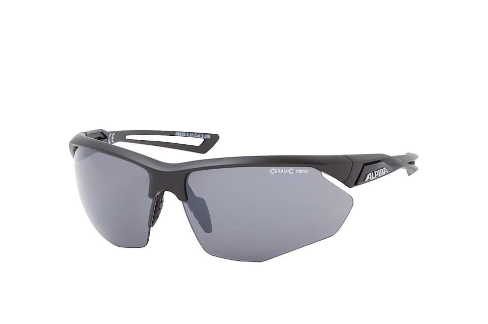 Nylos HR A8635.3.31, Sporty Sonnenbrillen, Schwarz