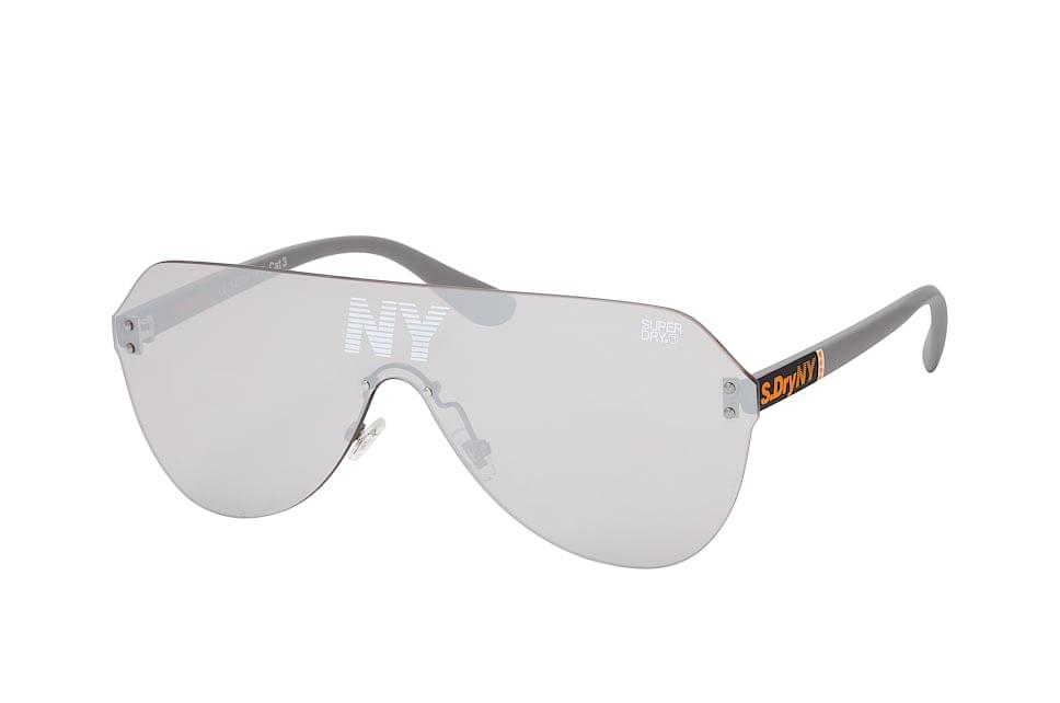 superdry -  Monovector 108, Singlelens Sonnenbrillen, Grau